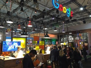 Messestand Google Dmexco 2015